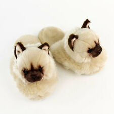 Himalayan Cat Slippers - Beige Animal Slippers
