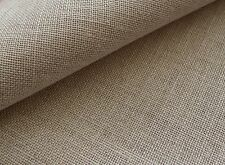 Natural 25 count Zweigart Dublin Linen evenweave fabric 50 x 70 cm