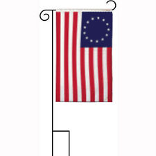 """12x18 12""""x18"""" Historical Betsy Ross Sleeved w/ Garden Stand Flag"""