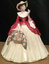 Coalport Celebration Of The Seasons Holly Bright Figurine Sculpted By Jack Glynn
