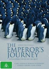 THE EMPERORS JOURNEY DVD, REGION 4, BRAND NEW AND SEALED, FREE POST!