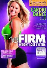 Cardio Dance EXERCISE DVD - THE FIRM Cardio Dance Club - 3 Workouts!