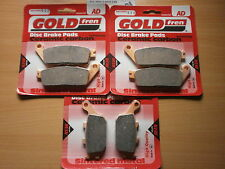 HONDA CB 600 HORNET (1998 to 2006)   FULL SET BRAKE PADS   SINTERED HH SINTERED