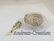 12 Baptism First Communion Party Favors Containers With Rosary Boy or Girl