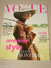 VOGUE MAGAZINE ITALIA=1996 AUGUST=ELSA BENITEZ=CINDY CRAWFORD BY MICHEL COMTE=