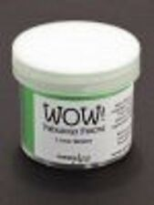 WOW Flock Powder LIME GREEN 1.5oz WT14R Raised Tactile Velvety Finish Non Toxic
