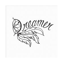 Dreamer Dream Catcher Vinyl Wall Decal Sticker Home Decorations