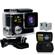 4k Wifi Ultra HD Waterproof Sports Action Camera Cam DV Kit for Ios and Android