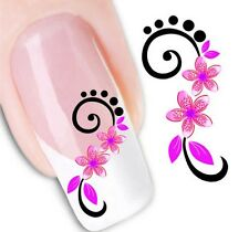 Nail Art Sticker Water Decals Transfer Stickers Decorative Flowers (DX1446)