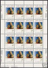 Canada Stamps -Full Pane of 16 -Boys and Girls Clubs of Canada #1857 -MNH