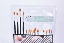 Purpose Paint Brushes Set For Oil Watercolors Art Acrylic Supply Painting FG