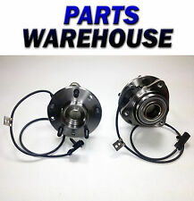 2 Front Wheel Hub & Bearing Assemblies For 97-05 Gm Trucks 4X4 Lifetime Warranty