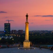 Statue Of The Victor In Belgrade Serbia Europe Poster 20'' X 20''