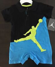 NWT NIKE AIR JORDAN Baby Boy Bodysuit Outfit 18M