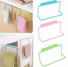 Towel Rack Holder Over Bar Hanging Organizer Bathroom Kitchen Cupboard Hanger