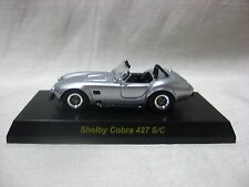 1:64 Kyosho Shelby Cobra 427 S/C Silver Diecast Model Car