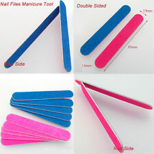 15pcs Nail Files Double Sided 180/240 Grit Mini Nail files Nail Buffer Buffing