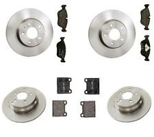 Volvo S70 98-00 L5 2.4L OEM Complete Brake Kit with 280mm Ate Rotors and Pads