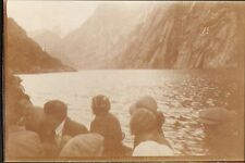 NORWAY TROLLFJORD PETITE PHOTO PAQUEBOT CUBA CGT 1931