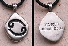 Cancer Pendant Horoscope Sign Cancer Charm Astrology Jewelry Cancer Necklace