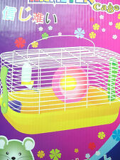 DELIKATE HAMSTER (RAT/MICE/GERBIL) CAGE 33 x 21 x 18 CM or 13 x 8 x 7 IN MEDIUM