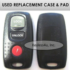 KPU41846 keyless entry remote transmitter clicker keyfob replacement CASE & PAD
