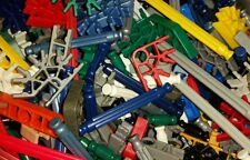 Lot of 100 KNEX RODS & CONNECTORS Mixed Pieces Parts K'NEX -