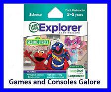 Leap Pad Game, Leapster Explorer GS Elmo, Abby Sesame Street Leapfrog Leappad