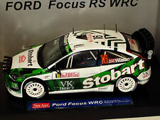1/18 Ford Focus WRC Stobart Monte Carlo Rally  2007  M.Wilson