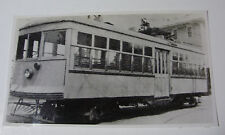USA598 FIVE MILE BEACH Electric Railway TROLLEY PHOTO New Jersey