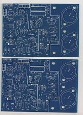 Class A dynamic biasing 80W amplifier PCB Quad 405 2pcs