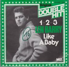 """7"""" Len Barry 1-2-3 / Like A Baby (Oldie) 60`s MCA Records"""