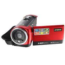 "2.7"" TFT LCD 16X Digital Zoom Video Camcorder 16MP Full HD 720P DV Camera E6W8"