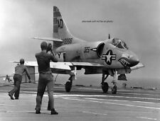 "U.S. Navy Douglas A4D-1 Skyhawk USS Antietam 8""x 10"" Vietnam War Photo Picture 8"