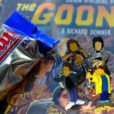 Spielberg's The Goonies Pin Badge Set. A Guy Called Minty - Casual Connoisseur