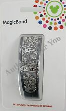 NEW Disney Pirates of the Caribbean Magic Band Grey Link It Later Gray MagicBand