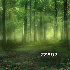 10X10FT Vinyl Photography Backdrop Mist Forest Photo Studio Backgrounds ZZ892