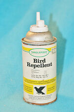 VINTAGE TANGLEFOOT BIRD REPELLENT TIN CAN - USED - 1/2 FULL - NO CAP