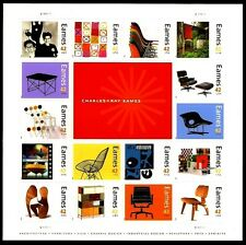 2008 - CHARLES & RAY EAMES - #4333 Mint -MNH- Sheet of 16 Postage Stamps