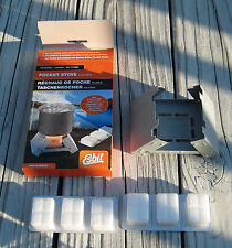 Esbit Pocket Stove Small NATO Issue Tactical Lightweight Compact Military