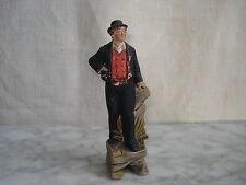 Statuette ancienne  Jeune Breton - Souvenir Bords de Mer - Bretagne