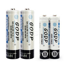 4 x AA +AAA 3000mAh 1350mAh NiMH Rechargeable Battery