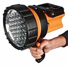 37 LED Rechargeable Spotlight Lantern Work Light Torch 1 Million Candle Power