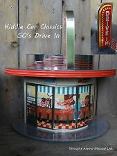 Hallmark 50's Classic Drive In Sign Pedal Car 1:24 Scale Tin Kiddie Car Classics