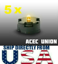5 X High Quality MG 1/100 QANT Raiser Gundam YELLOW LED Lights - U.S.A. SELLER