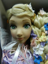 Disney Princess Tangled Rapunzel Tonner Doll NRFB Flat Feet Ellowyne Wilde Blond