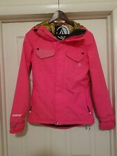 Volcom PVN GORE-TEX Stretch Snowboard JACKET AUTHENTIC PINK Womens SMALL NICE!!!
