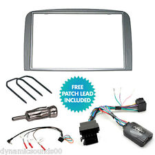 Alfa Romeo 147, GT Double Din Car CD Stereo Fascia Fitting Kit Stalk Steering