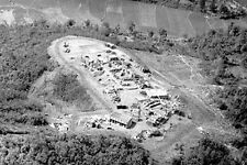 Vietnam 1970 - Aerial View Of LZ Ky Tra - Chu Lai Area
