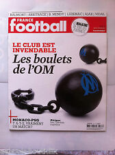 FRANCE FOOTBALL du 4/02/2014; Les boulets de l'O.M./ Vidal/ Luzenac/ Balmont